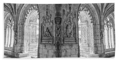 Jeronimos Monastery Belem Lisbon Bath Towel