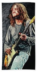 John Frusciante Hand Towel