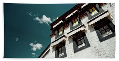 Jokhang Temple Wall Lhasa Tibet Artmif.lv Hand Towel