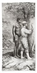 Jules Crevaux, During His Exploration Hand Towel
