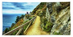Julia Pfeiffer Burns State Park Hand Towel