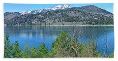 June Lake Panorama Hand Towel