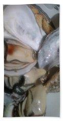 Oysters In Ponzu Vinegar Hand Towel