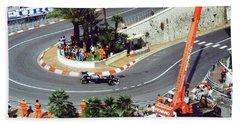 Karl Wendlinger Monaco Grand Prix Bath Towel