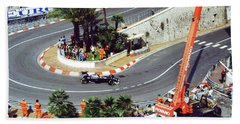 Karl Wendlinger Monaco Grand Prix Hand Towel