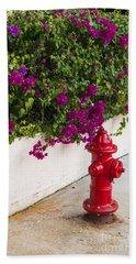 Key West Fire Hydrant Bath Towel