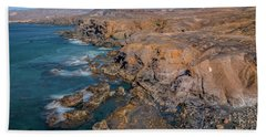 La Pared - Fuerteventura Hand Towel by Joana Kruse