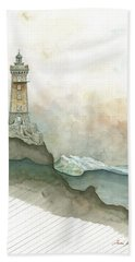 La Vieille Lighthouse Hand Towel