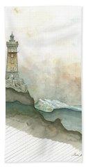 La Vieille Lighthouse Bath Towel