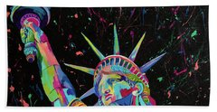 Lady Liberty  Hand Towel