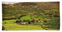 Lake District Landscape Hand Towel