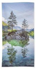 Lake Hintersee Bath Towel