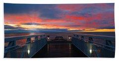 Lake Huron Sunrise Hand Towel