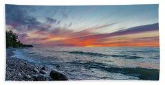 Lake Superior Sunset Hand Towel