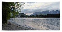 Lake Wanaka,queenstown, New Zealand Bath Towel