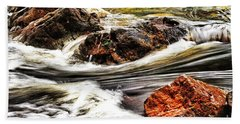 Bath Towel featuring the photograph Lamina Flow by Blair Stuart