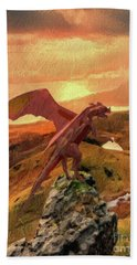 Land Of The Dragon Hand Towel