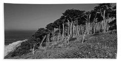 Lands End In San Francisco Hand Towel