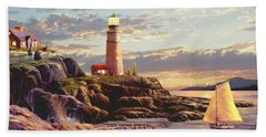 Last Light 2 Hand Towel by Ron Chambers