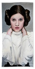 Leia Hand Towel by Tom Carlton