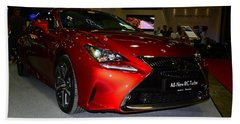Lexus Rc Turbo Bath Towel