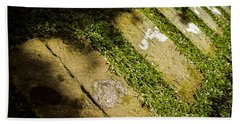 Light Footsteps In The Garden Bath Towel
