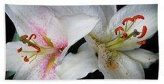 Lilies Hand Towel