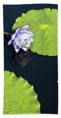 Bath Towel featuring the photograph Lily Love by Suzanne Gaff