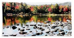 Lily Pond, Kancamagus Highway - New Hampshire  Hand Towel