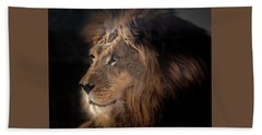 Lion King Of The Jungle Hand Towel