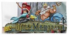 Little Mermaid Signage Mp Bath Towel