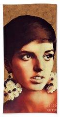 Liza Minnelli, Vintage Movie Star Hand Towel