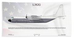 Lockheed L382g Bath Towel