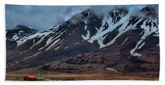 Longyearbyen Hand Towel by Shirley Mangini