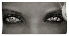 Bath Towel featuring the photograph Look Into My Eyes by Sotiris Filippou