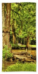 Louisiana Cajun Swamp Bath Towel