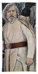 Luke Skywalker Hand Towel by Tom Carlton