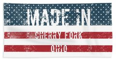 Made In Cherry Fork, Ohio Hand Towel