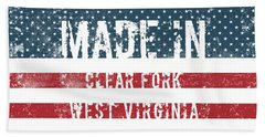 Made In Clear Fork, West Virginia Hand Towel