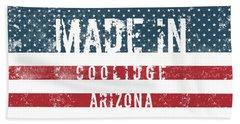 Made In Coolidge, Arizona Hand Towel