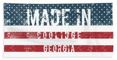 Made In Coolidge, Georgia Hand Towel