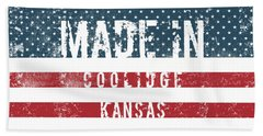 Made In Coolidge, Kansas Hand Towel