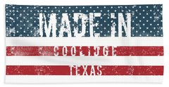 Made In Coolidge, Texas Hand Towel