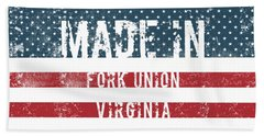 Made In Fork Union, Virginia Hand Towel