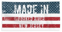 Made In Forked River, New Jersey Hand Towel