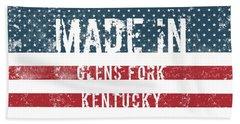 Made In Glens Fork, Kentucky Hand Towel