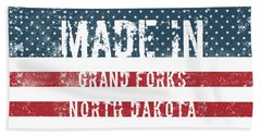 Made In Grand Forks, North Dakota Hand Towel