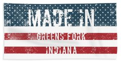 Made In Greens Fork, Indiana Hand Towel