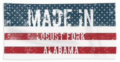 Made In Locust Fork, Alabama Hand Towel