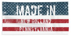 Made In New Holland, Pennsylvania Hand Towel